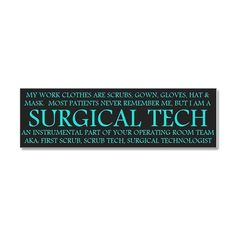 Surgical Technologist 20x6 Wall Peel by Admin_CP13613983