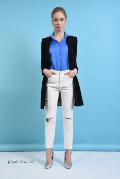 White Jeans, Casual, Pants, Fashion, Trouser Pants, Moda, Fashion Styles, Women Pants, Fasion