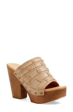 Free shipping and returns on Kork-Ease® 'Charissa' Platform Sandal (Women) at Nordstrom.com. A woodgrain platform and antiqued studs underscore the retro appeal of a mule-inspired open-toe sandal set on a signature comfort footbed.