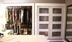 DIY Closet Doors