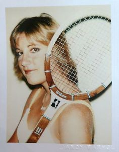 Chris Evert // Chrissy! Wanted to be just like her when I was a kid learning to play.