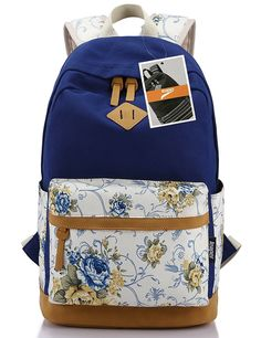 Leaper Lightweight Canvas Laptop Backpack Cute School Bag Casual Bookbags ** Tried it! Love it! Click the image. : Christmas Luggage and Travel Gear