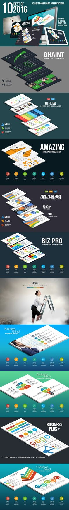 Best Of 2016 Bundle. Business Infographic