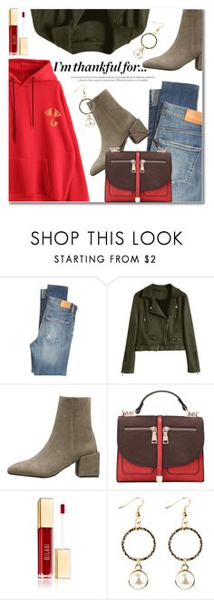 """I'm Thankful For..."" by svijetlana ❤ liked on Polyvore featuring Citizens of Humanity, thanksgiving and zaful"
