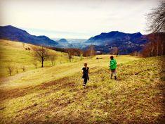 Spring Sunday at Alpe Vicania - Mini Me Explorer Go Outdoors, Mini Me, To Go, Sunday, Explore, Mountains, Children, Spring, Travel