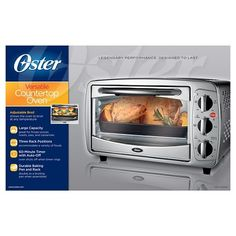 Countertop Oven, Stainless Steel Countertops, Stainless Steel Oven, 6 Slice Toaster, Catalog Cover, Kitchen Appliances, Packaging Boxes, Silver, Products