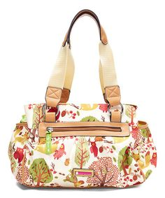 Loving this Forest Owl Triple-Section Satchel on #zulily! #zulilyfinds