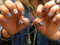 Punk Rock Nails <3