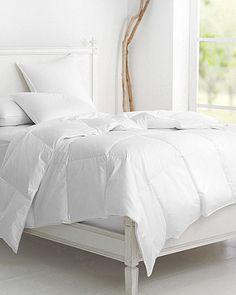 Garnet Hill Signature White Down Comforter