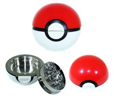 Moddan Pokemon Pokeball Grinder Tobacco Weed Spice Herb Grinder With Pollen Catcher and Random Bonus ** Find out more about the great product at the image link. Specialty Appliances, Kitchen Appliances, Cool Kitchens, Catcher, Pokemon, Spices, Herbs, Image Link, Tools