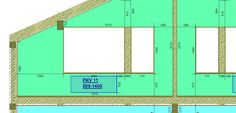 440. Спальня 2 (2 этаж) - схема монтажа радиаторов по оси Е