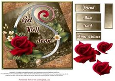 Beautiful Get Well Soon With Roses