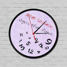 Mindig késők órája Minion, Geek Stuff, Clock, Funny, Creative, Wallpapers, Design, Memes, Ideas
