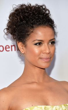 Curly updo alert! Forget beachy waves, ringlets (as seen on Gugu Mbatha-Raw) are where it's at!