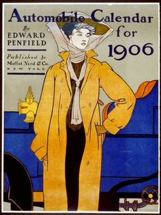 Edward Penfield Automobile Calendar for 1906