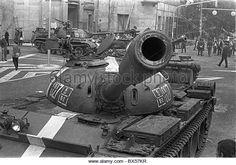 Soviet tanks - Stock Image