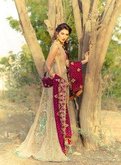 Umsha's by Uzma Babar Formal Bridal Dres http://clothingpk.blogspot.com/2015/05/umsha-by-uzma-babar-formal-bridal-dress-2015.html