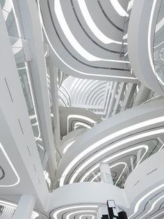 Galleria Centercity in Cheonan, Korea by UNStudio