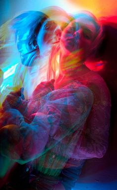 This artists seems to have used an array of different colours, either gels lights, flash filters or digitally manipulated. Anyhow, the array of colours being blurred creates an eerie feel to the photo by giving it a sense of motion combined with sensuality. It almost has the essence of a blurred night life cityscape. I plan to experiment with this blurred gel-light effect in my own images.