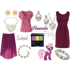 """""""Cheerile (My Little Pony: Friendship is Magic)"""" by colorsgalore on Polyvore"""