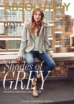 Absolutely Magazine CITY & ANGEL NOVEMBER 2014  Zest Media London