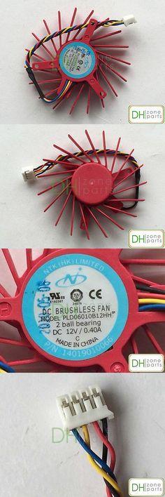 37mm 2 Pin Fan for Nvidia EVGA GT610 Video Card APISTEK GA41S2L 12V 0.1A
