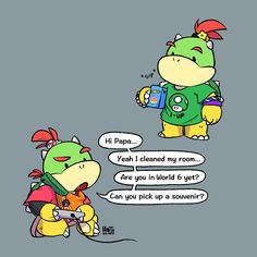 and Grill Dad Bowser Super Mario Bros, Mundo Super Mario, Super Mario Kunst, Super Mario Brothers, Super Smash Bros, Mario Bros., Mario And Luigi, Mario Kart, Cartoon Network