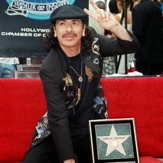 On this day in 1998, Carlos Santana is awarded a star on the Hollywood Walk of Fame