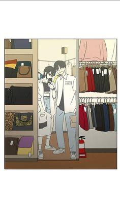 Laptop Wallpaper, Webtoon, Anime Couples, Manhwa, Revolution, Family Guy, Wall Decor, Scene, Kawaii