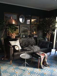 A Gorgeously Dark & Dramatic Family Home in Norway — House Call