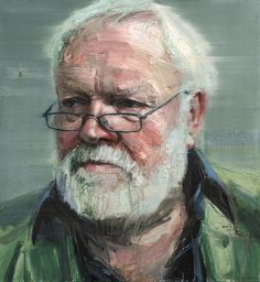 Colin Davidson............Portrait of Michael Longley 2011 oil on linen 127 x 117 cm The collection of the National Gallery of Ireland