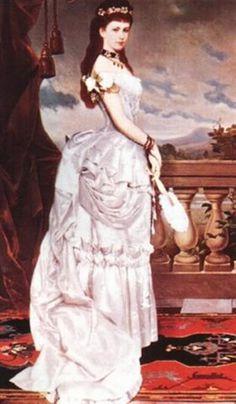Císař František Josef I. a Císařovna Elisabeth (Sissi) 1880s Fashion, Royal Fashion, Austria, Elisabeth 1, Empress Sissi, Kaiser Franz, Victorian Pictures, European Dress, Princess And The Pea