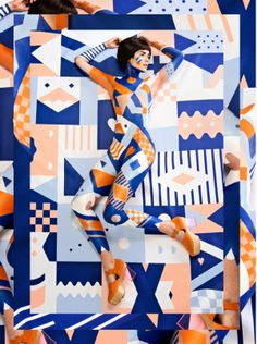 Body Paint Design for Minna Parikka by Janine Rewell | Minimo Graph