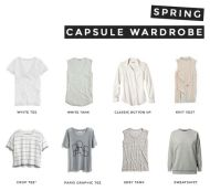 my spring 2015 capsule wardrobe   Un-Fancy