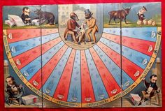 "The Game of Bulls and Bears was introduced by McLoughlin Bros in 1883 and was based on the financial panic that occurred 10 years earlier. The Game of Bulls and Bears promised players that playing the game would make them feel like ""speculators, bankers, and brokers"". 