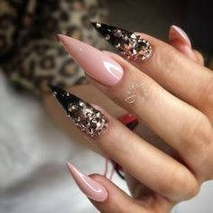 40 Long Acrylic Nails For Spring