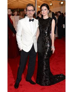 Gary Oldman. Class as fuck at the met gala
