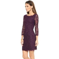 5bb9544888b Unomatch Women s Demure Lace with Long Back Zipper Dress Dark Purple Junior  Dresses