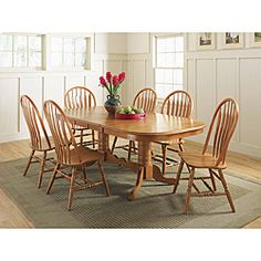The Kitchen table and chairs I want! Just with room for 8 ppl