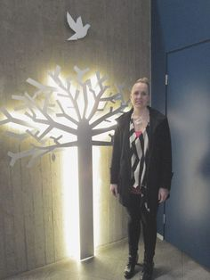 Kastepuu (Christening tree) by Jenni Rutonen Design at Alava Church in Kuopio, Finland.