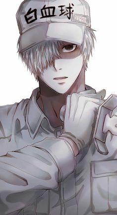 What this manga game? Hot Anime Boy, Anime Love, Fan Art Anime, White Blood Cells, Animes Wallpapers, Anime Shows, Kawaii Anime, Anime Characters, Manga Anime