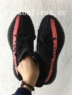 37e9c1782aae9 Adidas Yeezy Boost 350 V2 Black Red 350 V2