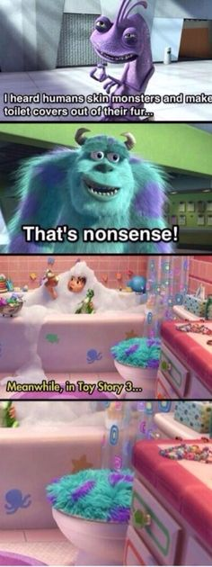 Funny pictures about One Of The Darkest Jokes In Pixar History. Oh, and cool pics about One Of The Darkest Jokes In Pixar History. Also, One Of The Darkest Jokes In Pixar History photos. Humour Disney, Funny Disney Memes, Disney Facts, Stupid Funny Memes, Funny Relatable Memes, Funny Humor, Funny Stuff, Memes Humor, Sarcastic Jokes