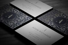 Elegant Business Card by Little Pines Designs on @creativemarket