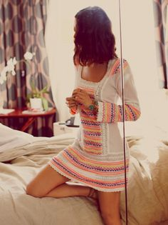 Vestido estilo tribal de @Free People