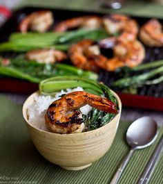 Garlic & Ginger Grilled Prawns - and a giveaway!