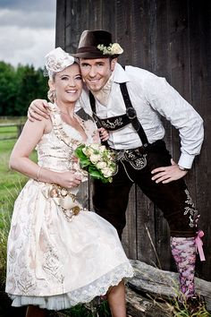 Perfect for our Oktoberfest wedding! Dirndl Dress, Costume Dress, Country Fair Wedding, German Wedding, Alternative Wedding Dresses, Beautiful Costumes, Designer Wedding Dresses, Traditional Dresses, Playing Dress Up