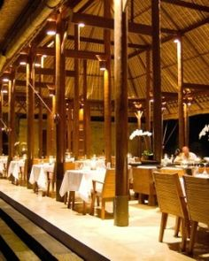 Alila Ubud  ( Bali, Indonesia )  The best tables at Plantation spill out to the border with the jungle. #Jetsetter