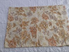 Vintage Pillowcases Floral Pair by Dan River Dantrel Made in USA