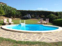 Private pool in villa Casa di Lucertola
